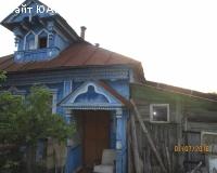 Бревенчатый  дом в деревне с баней - Борский район.