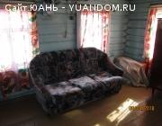 Дом пятистенок, п. Большеорловское.
