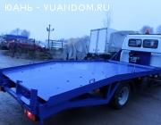Эвакуатор с ломаной платформой на газ-3302