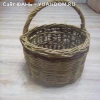 Корзины и короба плетеные из Ивовой лозы