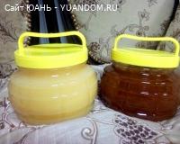 Мёд гречишный и липовый, расфасован