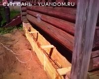 Поднимем дом - заменим венцы на цоколь, фундамент лента. По Нижегородской области.