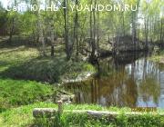 Участок 10,5 гектар, КФХ, на берегу реки Ватома.