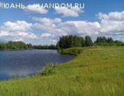Земельный участок на берегу реки Ильинка.