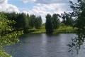 Два земельных участка, 15 и 4 сотки на берегу реки - 100 000 руб.